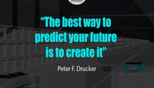 The Best Way To Predict Your Future Is Create ItPeter F